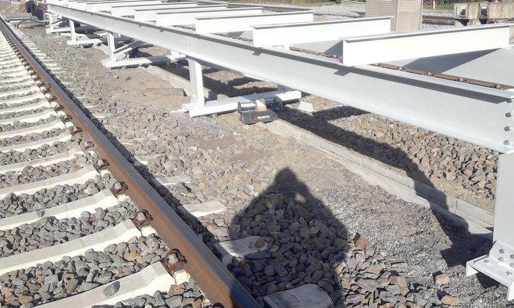 Serviceplattform für Gleisanlagen